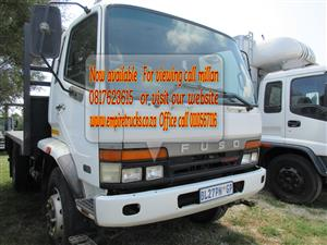 FUSO 8ton dropside truck now available for sale