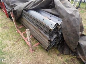 New galvanized and non galvanized highway barriers