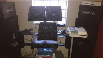 Complete pro dj setup R40 000 Neg