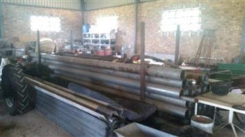 6 meter Galvanized steel pipes