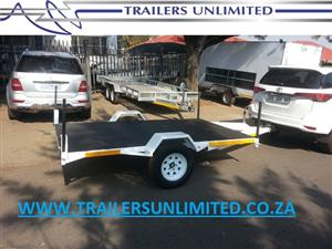 2400 X 1200 FLATBED TRAILER.