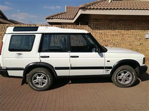 2004 Landrover Discovery Td5  swap for vacant stand in marloth park