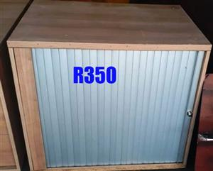 Small cupboard with sliding door for sale