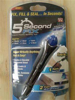 5 Second Fix UV Glue