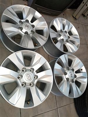 """17""""Toyota hilux mag wheels only"""