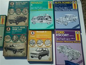 various workshop manuals