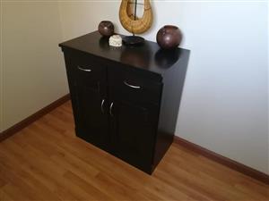 Dark wooden drawer cabinet for sale