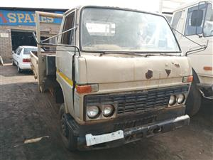 Stripping Toyota dyna truck for spares