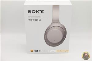SONY HEADPHONES Silver