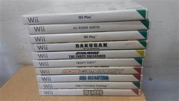 WII GAMES, used for sale  Johannesburg - Alberton