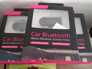 BEST SELLER: CAR WIRELESS BLUETOOTH AUX AUDIO RECEIVER - HANDS FREE