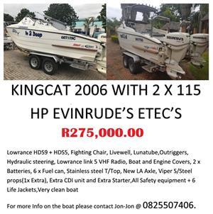 2006 Kingcat Boat for Sale
