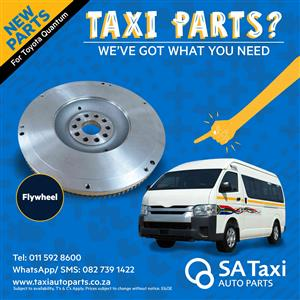 New Flywheel suitable for Toyota Quantum - SA Taxi Auto Parts quality taxi spares