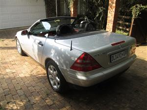 1997 Mercedes Benz SLK 200 Kompressor