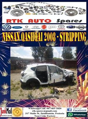 Nissan Qashqai 2008 - Stripping for Spares