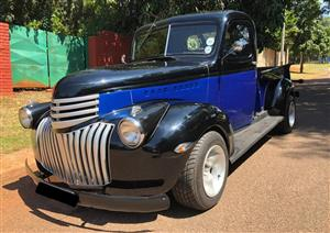 1941 Chevy Pickup with 383 Stroker Motor
