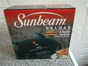 Sunbeam 2 slice sandwich toaster