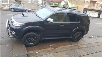2014 Toyota Fortuner 3.0D 4D automatic