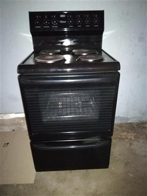 Second hand stove and oven