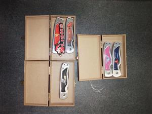 Knives   5 Knives Available . Only 3 boxes .