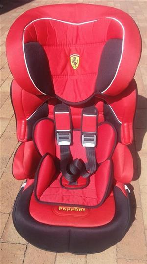 Kids Ferrari Car seat