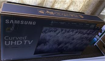 "Samsung smart curved UHD 55"""
