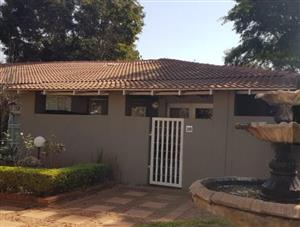 2Bedroom cottage R8030 per month
