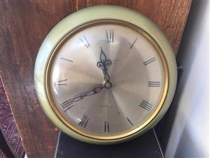 Mid-century Westclox Transistor Mechanical Wall clock