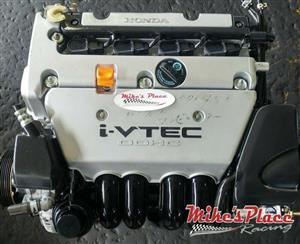 Honda CRV K20A Engines for sale at Mikes Place