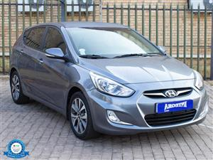 2017 Hyundai Accent hatch 1.6 Fluid auto