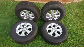 Nissan navara 2018 wheels and tyres brand new