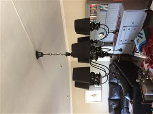 Dining room light hanging