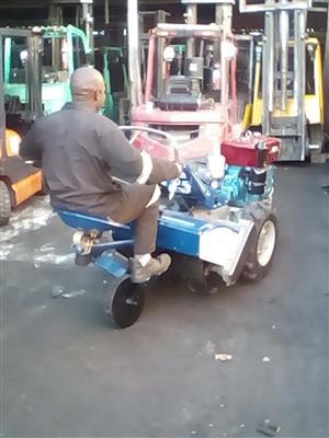 2 Wheel Tractor and Rotavator