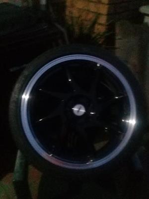 17inch TSW Rims with Tyers