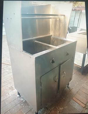 Deep Fryer 40 Litre  - Stainless Steel