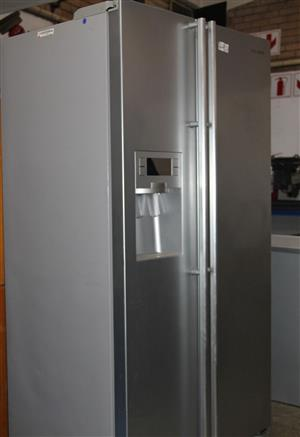 Samsung side by side metallic fridge S031835A #Rosettenvillepawnshop