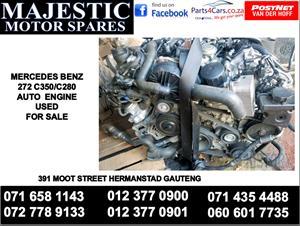 Mercedes benz C 350 engine for sale