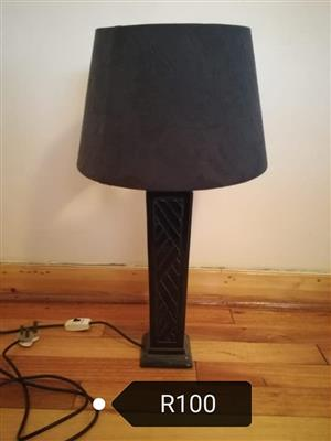 Dark brown lamp for sale
