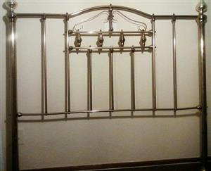 Beautiful Brass Divider/Brass Headboard!!