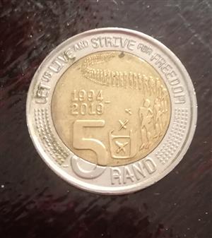 Selling mandela coins