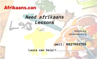 Afrikaans Tutor-   for students