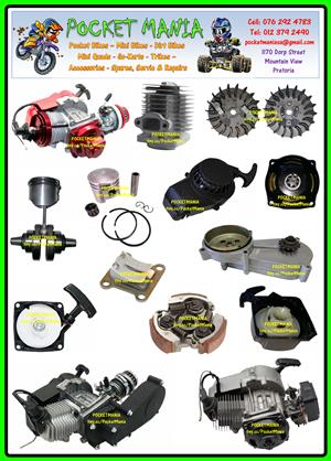 POCKET BIKE SPARES