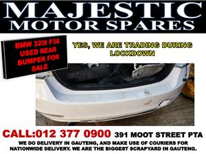 Bmw 320 i  f30 used rear bumper for sale