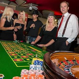 Fun Casino, Vegas Night, Casino Royale, Flush Royale - Themed Events with Blackjack, Roulette,Poker and Dice tables