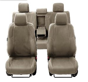 Toyota Fortuner custom made canvas seat covers.