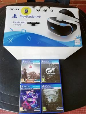 Playstation VR Headset and Camera Bundle