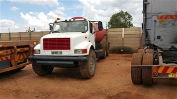 1990 International Water truck for sale without the water tank. In running condition Price include vat