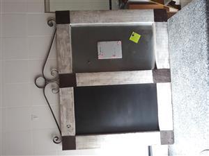 A big notice board for sale