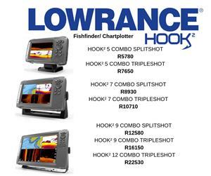 Lowrance Fishfinders/GPS/VHF radio