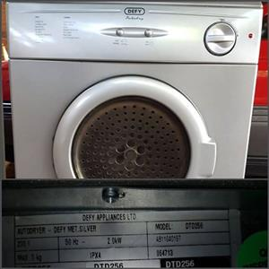 Defy 5kg silver Tumble Dryer